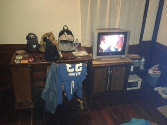 Chunut House: makeshift closet...