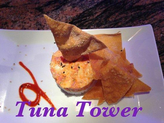 9Face Sushi: Best Tuna tower