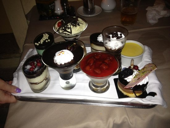 23twelve Restaurant: Spoilt for choice!