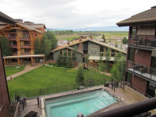 Hotel Terra Jackson Hole, A Noble House Resort: View from room
