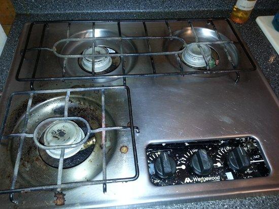 Yogi Bear's Jellystone Park Camp-Resort at Paradise Pines: Dirty stove