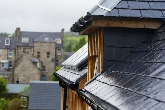 Dunallan House: Sustainability - solar panels