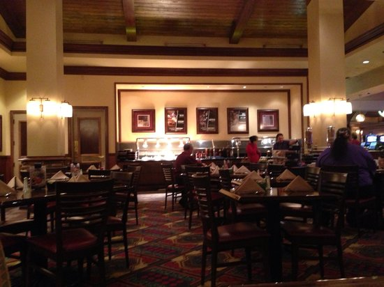 Silver Reef Hotel Casino Spa: Hearty and delicious breakfast!!