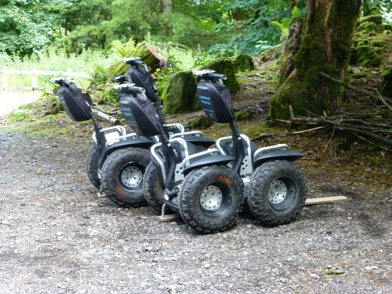 Lakeland Segway: The Segways