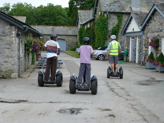 Lakeland Segway: Graythwaite Cottages are part of the Graythwaite tour