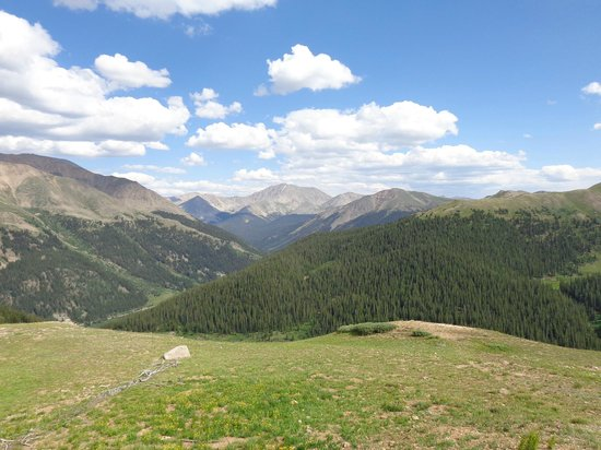 Independence Pass: View from the top