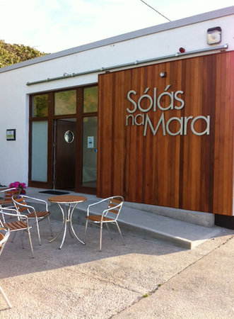 Ring, Irlanda: Entrance to Solas Na Mara Seaweed Bath Health Centre, Waterford