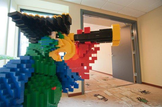 Hotel LEGOLAND: gangen