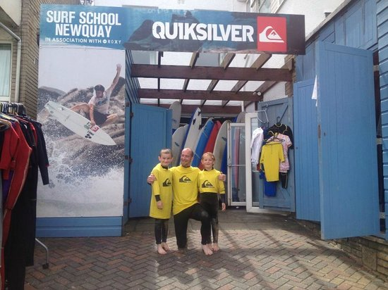 Quiksilver Surf School Newquay: Awesome lesson at Quiksilver Surf School
