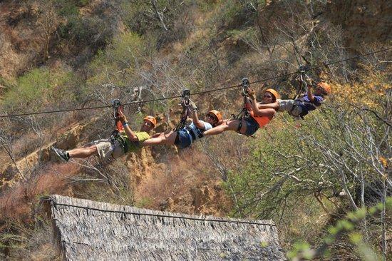 Wild Canyon Adventures: tandem zip line