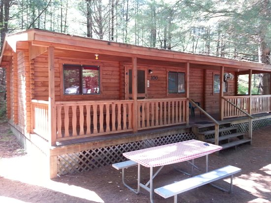 Yogi Bear's Jellystone Park Camp-Resort at Paradise Pines: Yogi cabin