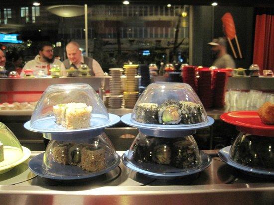 Sushi am Ring: Tapis roulant 2