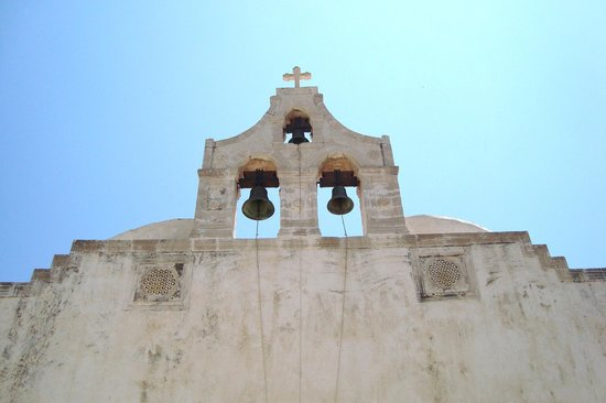 Footscapes of Crete: The bells of Preveli Monastery church