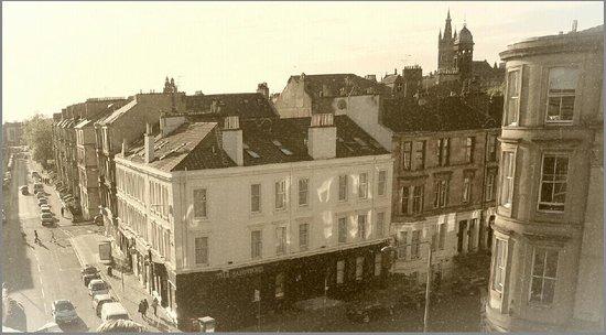 The Sandyford Hotel: Vue des toits
