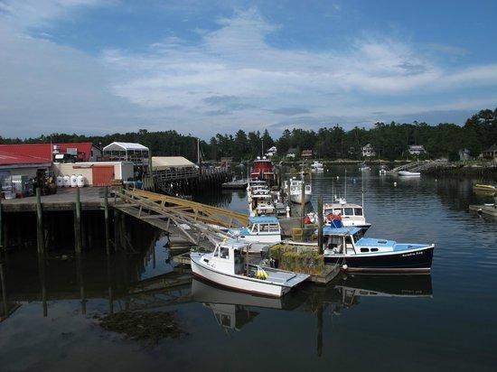 Robinson's Wharf: the views