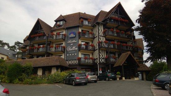 Best Western Plus Hostellerie Du Vallon : entrance