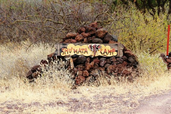 Wegzeichen Shu'mata Camp