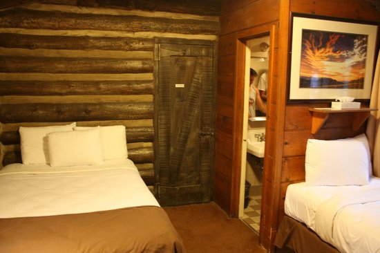Grand Canyon Lodge - North Rim: Inside our cabin