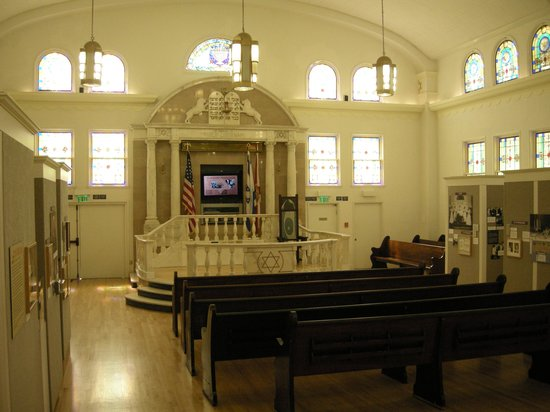 Jewish Museum of Florida - FIU: Inside of the Jewish Museum, that seved as synagogue from 1936-1986