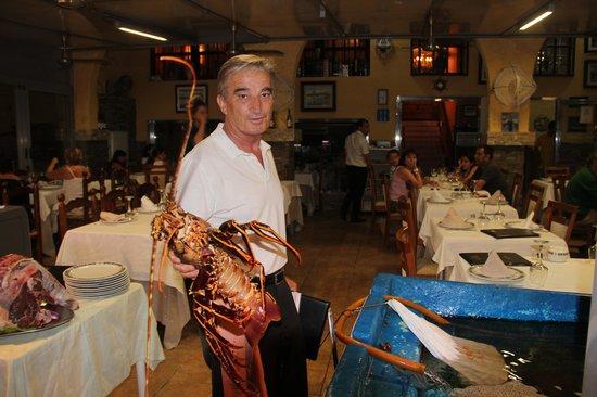 Restaurante Marisqueria Arroceria Casa Santi: Sympa la bête :-)