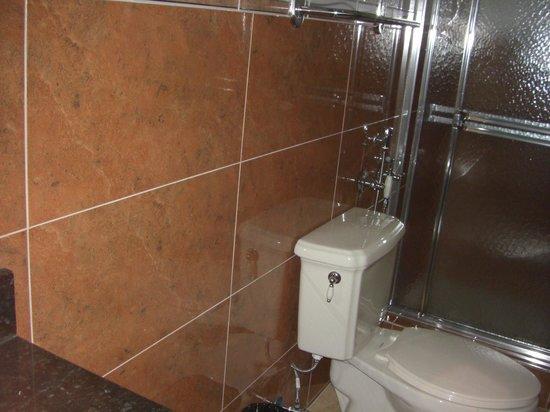 Hotel Milan: From the bathroom door