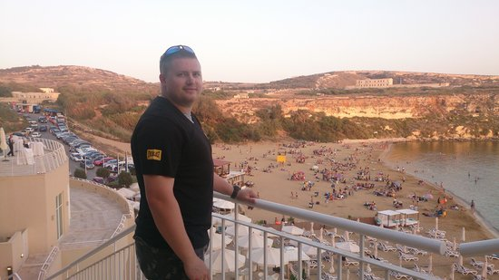 Radisson Blu Resort & Spa, Malta Golden Sands: the bay