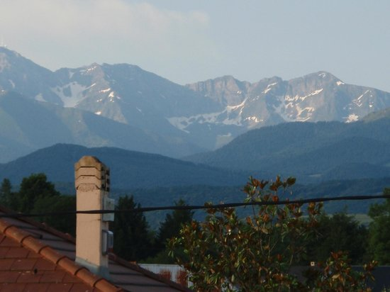 Pyrenees Motorcycle Tours: View from our room - woke up to this every morning, brilliant