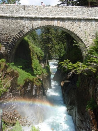 Pyrenees Motorcycle Tours: Le Pont D'Espagne - a short ride away on some great roads