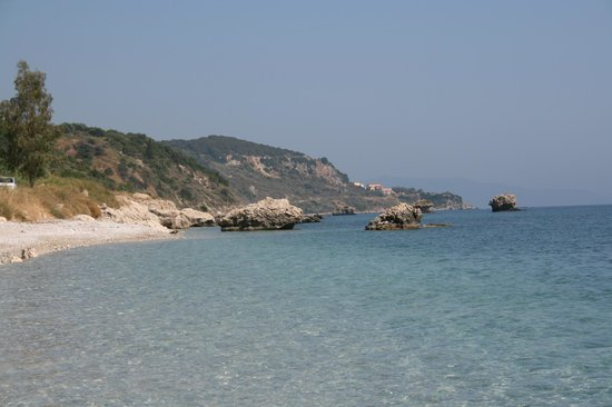 Skala Beach: As an alternative, this beach is a few km before Poros