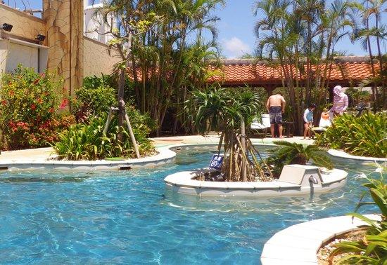Terme VILLA Chula-u : 温泉水を使ったヒーリングプール