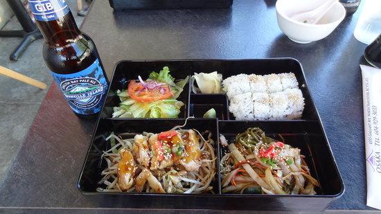 Osaka Sushi: Tasty box lunch