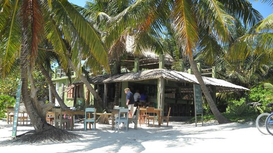 Ak'bol Yoga Retreat & Eco-Resort: Restaurant on site - probably the best food that I had in Belize