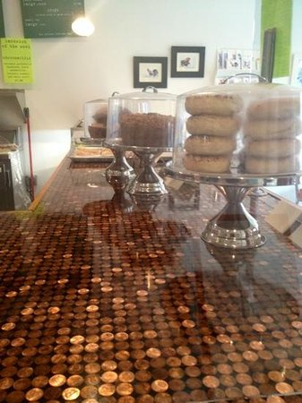 The Bakery: Amazing Countertop; Delectable Goodies