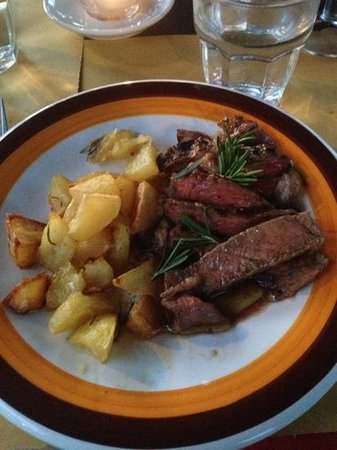 Agriturismo Casanova: Chianina dinner. Melts in your mouth!