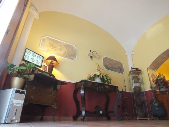 Fittacamere Villa Flora: sala internet