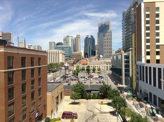 Hampton Inn & Suites Nashville - Downtown: our view