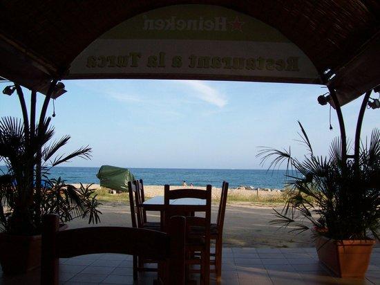 Maui Beach Club : super mooi uitzicht op zee!!
