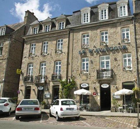 Hotel Le d'Avaugour : La façade de l'hôtel