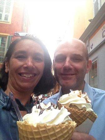 gelateria azzurro : 2 amoureux Glacés