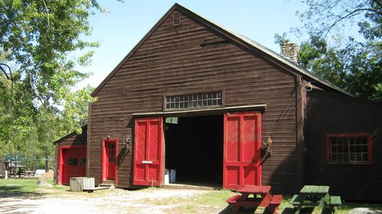 Geneva Point Center on Lake Winnipesaukee: The Barn
