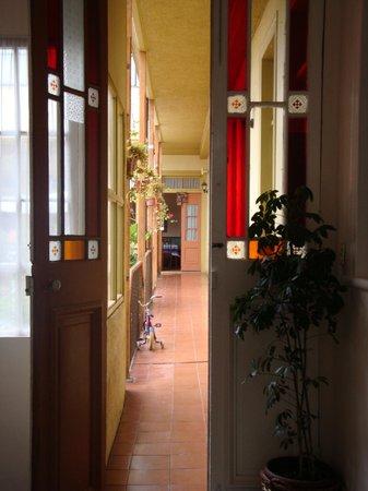 La Casa de Henao: Corredor do 1º andar
