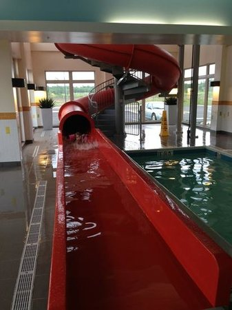 Fairfield Inn & Suites by Marriott Moncton : The Slide