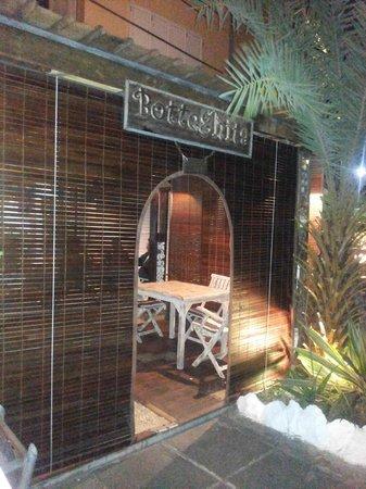 Botteghita : The restaurant