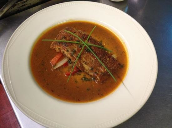 Tregenna Hotel: Thai salmon ..... yummy ....