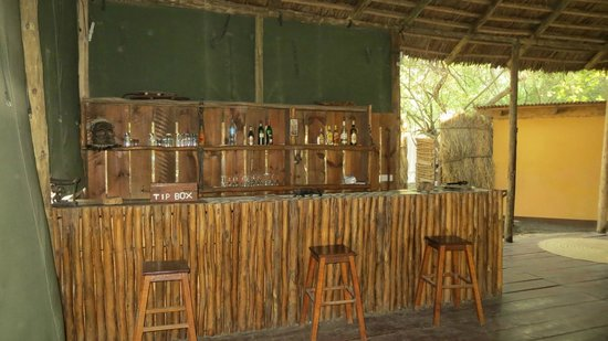 Natron River Camp: Le bar