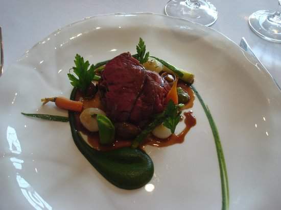 Gidleigh Park Restaurant : beef - wonderful