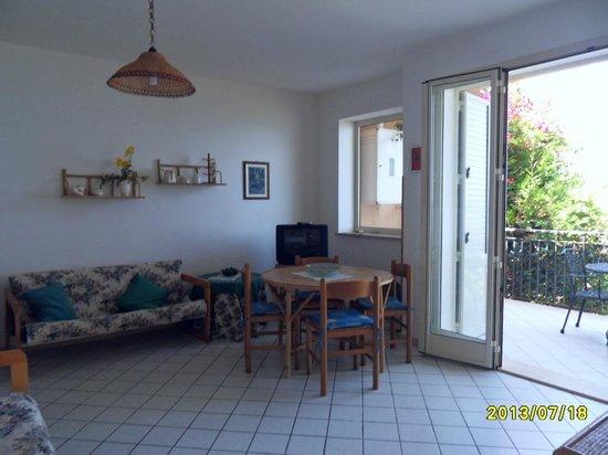 Park Residence Cicladi: soggiorno