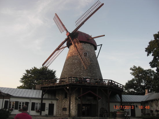 Saaremaa Veski: The restaurant
