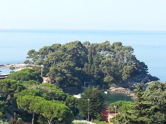 Hotel Rosa dei Venti: Le baie viste dalla terrazza del IVº piano