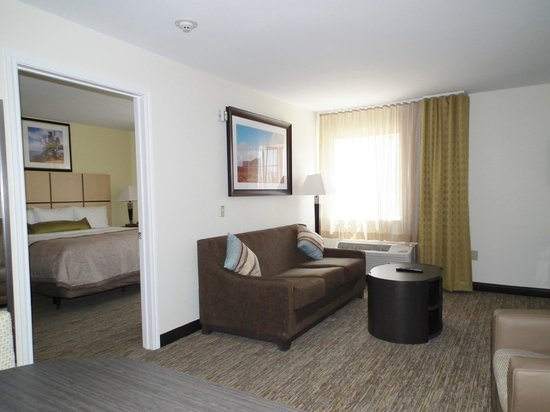 Candlewood Suites New Braunfels : Living Room